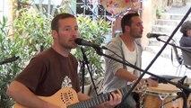 Flayosc Var Concert Les Ti'mals Musicien/Groupe 25 Avril 2014 au Café du Midi sur la place Beaumont à Flayosc Dracénie Var