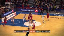 Playoffs Magic Moments: Forceful Two-Handed Dunk by Nenad Krstic, CSKA Moscow