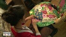 Passions d'artisans : la restauration de tissu