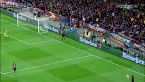 Barcelona vs Atletico Madrid (UEFA Champions League 2013/14 Quarter Final 1st Leg) - 1st Half