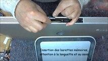 iMac 2009 27 pouces remontage insertion barettes mémoire
