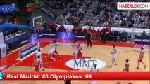 Real Madrid: 83 Olympiakos: 69