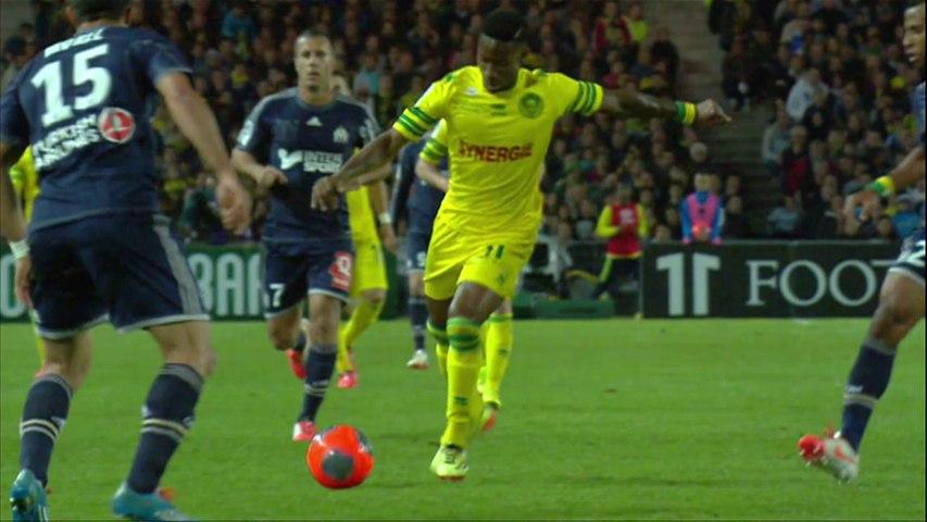 But Serge GAKPE (64ème) - FC Nantes - Olympique de Marseille - (1-1) - 25/04/14 - (FCN-OM)