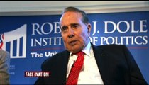 Bob Schieffer thanks Bob Dole for his good manners