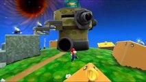Super Mario Galaxy - Planètes œufs - Étoile 3 : La flotte de Poulpoboss