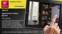 A vendre - appartement - PAU (64000) - 3 pièces - 63m²