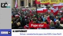 Zapping Actu du 28 Avril 2014 - Le retour d'El Niño cet été, Canonisation des papes Jean XXIII et Jean-Paul II