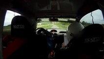 Rallye des Gueules Noires 2014 - ES3 - DARBONNAT F. / ELET B.