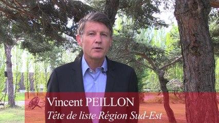 Vincent PEILLON sur le pont