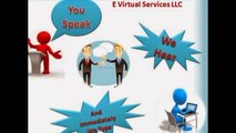 E Virtual Services LLC - Find Online Outsourcing Data Entry Services at Reliable Price
