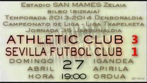 Jor.35: Athletic 3 - Sevilla FC 1 (27/04/14)