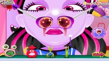 Baby Monster High Nose Doctor Games to play for girls