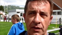 B.Vellut (FCS Rumilly) et R.Favre (Rumilly) - Finales régionales U13 2/4