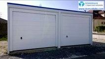 Garage béton préfabriqué monobloc - Rhône Alpes et Sud de France, distributeur installateur de garages préfabriqués en béton monobloc et locaux techniques béton.