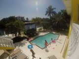 Time Lapse Girls In The Pool Florida Keys2014 Spring Break Filmed With GoPro (Low)