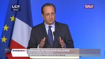 Discours de Clôture de François Hollande sur le thème « L'Etat se mobilise pour l'emploi » - Evénements