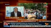 Inició en Colombia el Paro Nacional Agrario