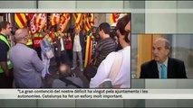 "TV3 - L'entrevista del diumenge - Joaquim Gay de Montellà: ""Som partidaris d'una reforma de la Con"