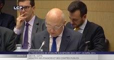 Travaux en séance : Audition de M. Michel Sapin, ministre des Finances et des Comptes publics et de M. Christian Eckert, secrétaire d'Etat au Budget, sur le programme de stabilité 2014-2017.