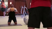 THE KNIGHTS SWEAT IT OUT IN THE GYM | Inside KKR Ep 19 | KKR work hard before final match of UAE