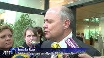 Rigueur: réactions après la rencontre Valls-députés PS