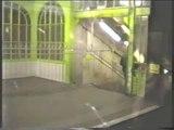 rer D et metro ligne 1 ,ligne 11 ,ligne 7 bis , ligne 2 ,ligne 13 paris 1988