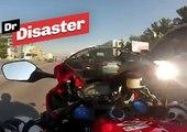 Un motard roule à 200 km/h dans les embouteillages / Dr Disaster