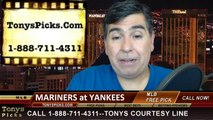 New York Yankees vs. Seattle Mariners Pick Prediction MLB Odds Preview 4-29-2014