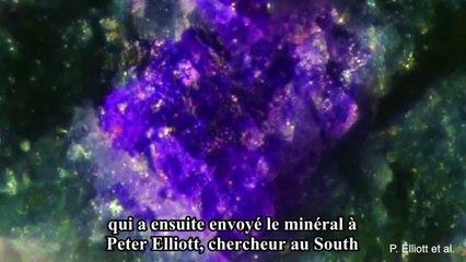 Des scientifiques découvrent un minéral inconnu en Australie