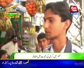 Sukkur Beverages usage increases due to hot weather