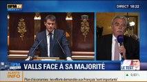 BFM Story: Vote du programme de stabilité: Manuel Valls a-t-il rassuré les députés frondeurs du PS ? - 29/04