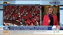 19H Ruth Elkrief: Barbara Pompili explique son opposition au plan d'économies de Manuel Valls - 29/04
