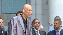 Kareem Abdul Jabbar applauds lifetime ban for Sterling