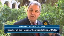 President Angelo Farrugia, Speaker of the House of Representatives of Malta