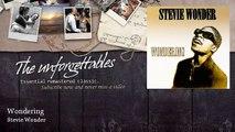 Stevie Wonder - Wondering