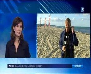 France 3 Languedoc-Roussillon - Reportage sur le Mondial du Vent 2014