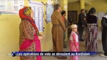 Irak : Moqtada al-Sadr et les chiites votent à Najaf