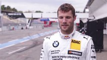 BMW DTM Test Drive in Hockenheim 2014 - Interview Martin Tomczyk, BMW DTM driver