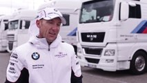 BMW DTM Test Drive in Hockenheim 2014 - Interview Joey Hand, BMW DTM driver