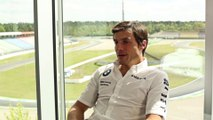 BMW DTM Test Drive in Hockenheim 2014 - Interview Bruno Spengler, BMW DTM driver