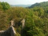 Burg Frankenstein im Odenwald / Castle Frankenstein in the Odenwald forest