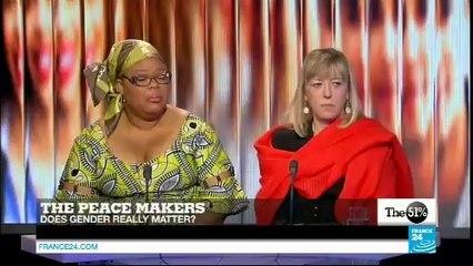 Les Prix Nobel de la Paix Jody Williams, Leymah Gbowee et Shirin Ebadi invitées de France 24