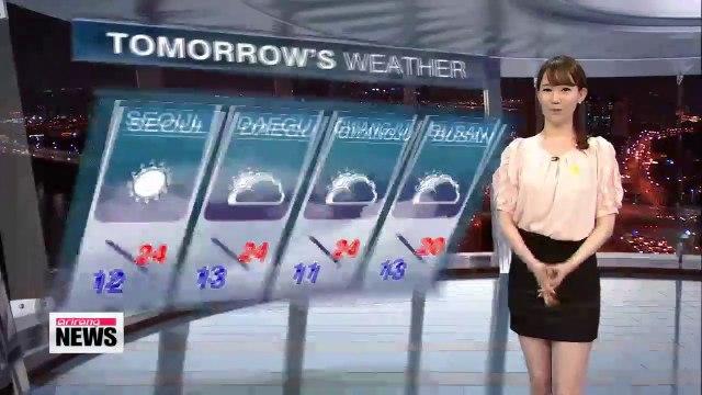 Nice, sunny day forecast nationwide on Thursday