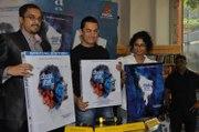 Bollywood Star Aamir Khan and Kiran Rao at Movie Dhobi Ghat DVD launch