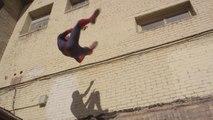 The Amazing Spider-Man Greatest Parkour Demo!!