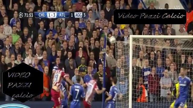 Chelsea vs Atletico Madrid 1-3 - Chelsea 1-3 Atletico Madrid - Champions League Highlights 30/04/2014
