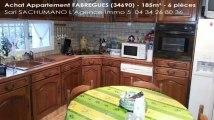 A vendre - appartement - FABREGUES (34690) - 6 pièces - 185m²