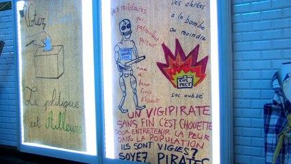 Action Antipub le 25 avril 2014 à Paris