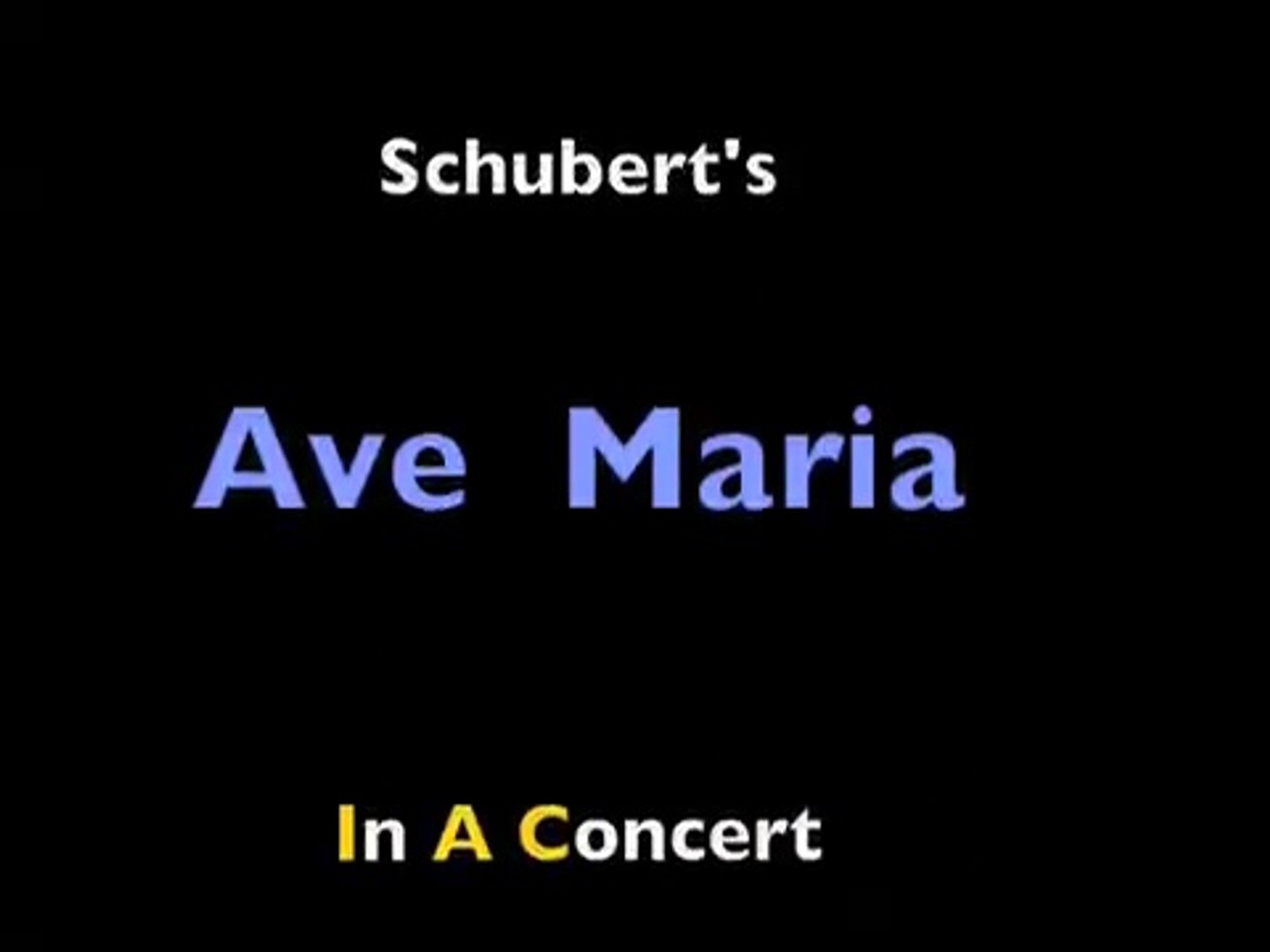 Barney Weihnachtslieder Text.Schubert S Most Famous Ave Maria