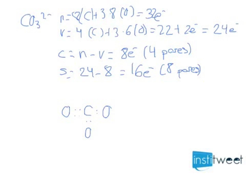 Estructuras De Lewis Geometría Y Polaridad Ejercicio Resuelto De Selectividad 2013